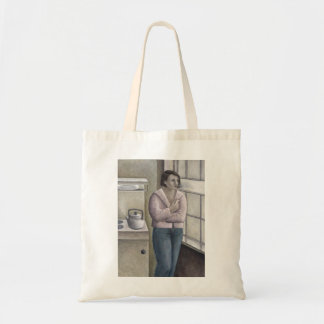 Woman Smoking 1996 Tote Bag