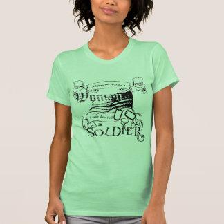 Woman Soldier by Locker 32 Shirt