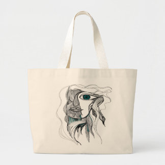 Woman Spirit Large Tote Bag