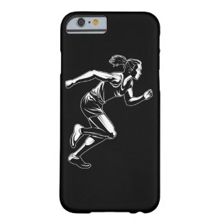 Woman Sprinter Barely There iPhone 6 Case
