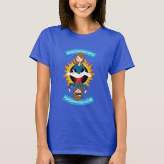 """Woman/Superhero w/Logo """"How You See Me"""" T-Shirt"""
