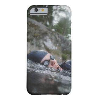 Woman swimming, close-up barely there iPhone 6 case