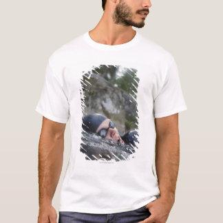 Woman swimming, close-up T-Shirt
