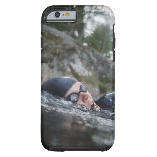 Woman swimming, close-up tough iPhone 6 case