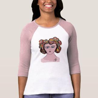 woman T-shirt artistic