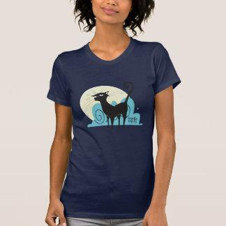 "Woman T-Shirt ""Black Cat """