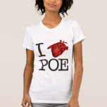 "Woman T-Shirt ""Poe Heart"" Polera"