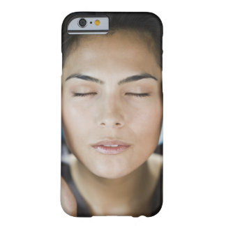 Woman taking a spa treatment barely there iPhone 6 case