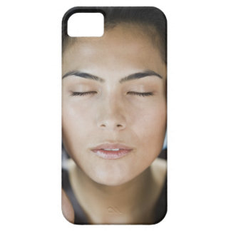 Woman taking a spa treatment iPhone SE/5/5s case