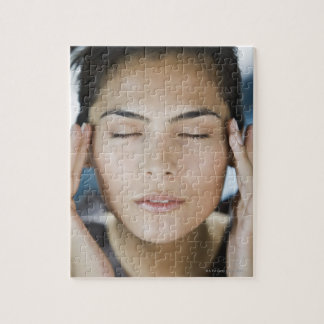 Woman taking a spa treatment jigsaw puzzle