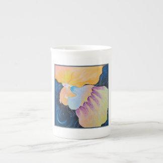 Woman. Tea Cup