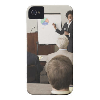 Woman teaching a class to adults iPhone 4 cover