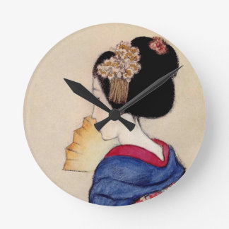 Woman ten subject dance princess round clock