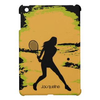 Woman Tennis Player iPad Mini Covers