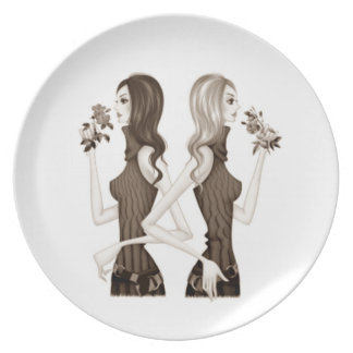 """WOMAN TO WOMAN"" PLATE"