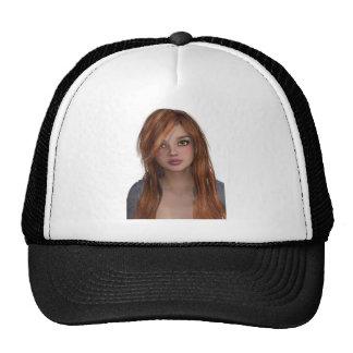 woman trucker hat