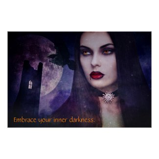 Woman Vampire Poster