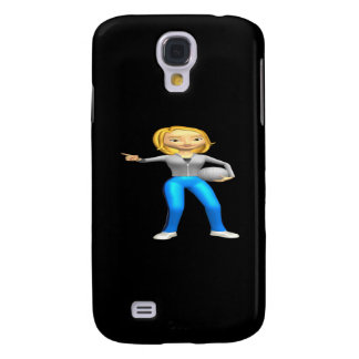 Woman Volleyball Coach Galaxy S4 Cover
