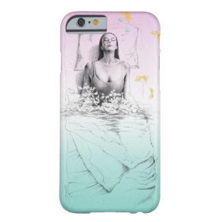 Woman waking up water surreal art barely there iPhone 6 case