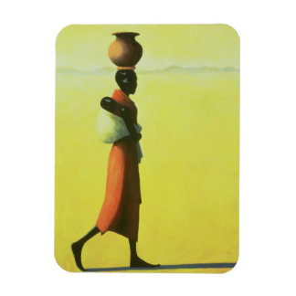 Woman Walking 1990 Magnet