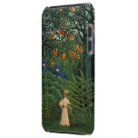 'Woman Walking in an Exotic Forest' iPod Touch Cases