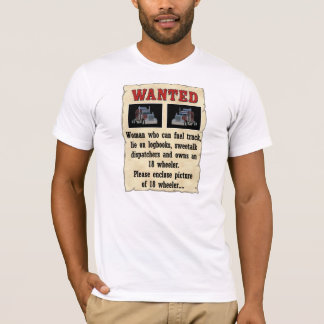 Woman Wanted Poster T-shirts and Sweats