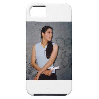 Woman Warrior Gun Photo Iphone 5 Case