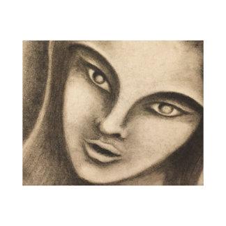 Woman Watching Canvas Print
