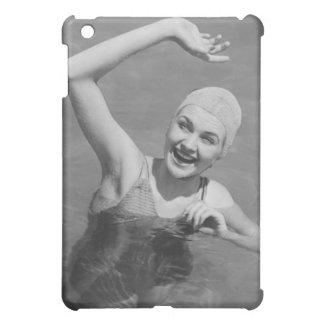 Woman Waving iPad Mini Covers