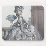 Woman wearing a stylish dress with her hair mousepads