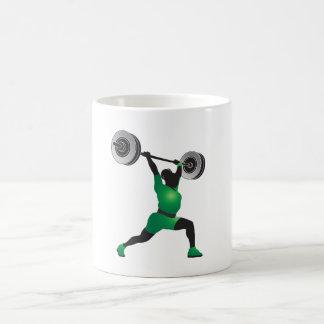 Woman Weightlifting Coffee Mug