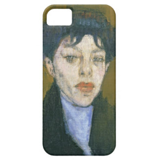 Woman with a Blue Scarf, c.1912 (oil on canvas) iPhone 5 Cases