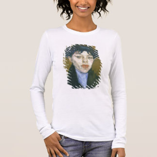 Woman with a Blue Scarf, c.1912 (oil on canvas) Long Sleeve T-Shirt