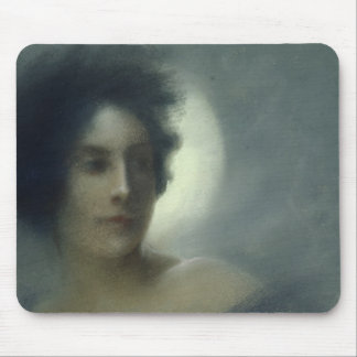 Woman with a Crescent Moon or, The Eclipse, 1888 Mouse Pad