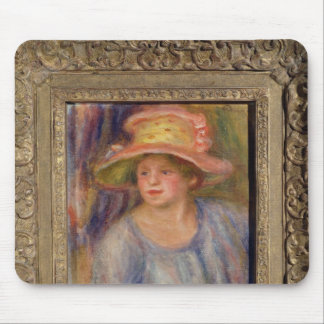 Woman with a hat, c.1915-19 ? mouse pad