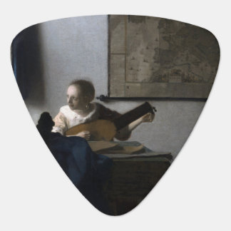 Woman with a Lute by Johannes Vermeer Pick