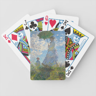 Woman with a Parasol, 1875 (oil on canvas) Bicycle Playing Cards