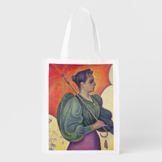 Woman with a Parasol, 1893 Grocery Bags