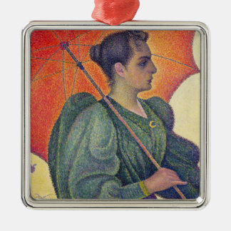 Woman with a Parasol, 1893 Metal Ornament