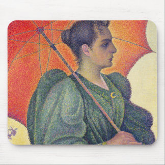 Woman with a Parasol, 1893 Mouse Pad