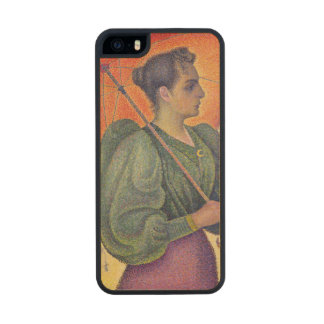 Woman with a Parasol, 1893 Carved® Maple iPhone 5 Case