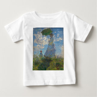 Woman with a Parasol by Claude Monet Baby T-Shirt