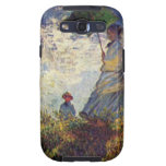 Woman with a Parasol by Claude Monet Samsung Galaxy SIII Covers