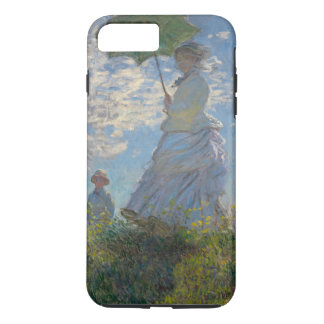 Woman with a Parasol by Claude Monet GalleryHD iPhone 7 Plus Case