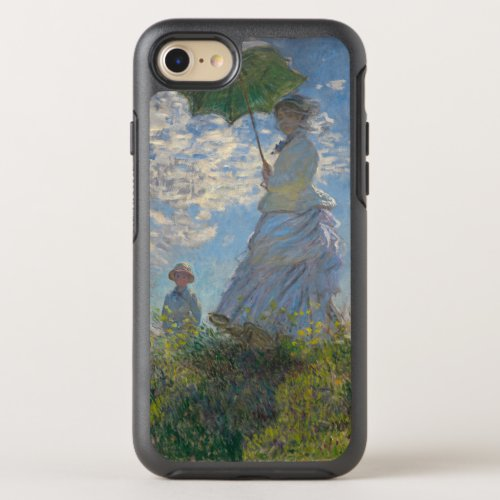 Woman with a Parasol by Claude Monet GalleryHD Phone Case