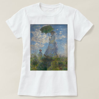 Woman with a Parasol by Claude Monet GalleryHD T-Shirt