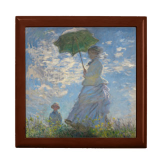 Woman with a Parasol by Claude Monet Gift Box