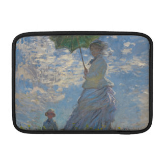 Woman with a Parasol by Claude Monet MacBook Air Sleeve