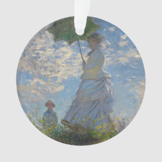 Woman with a Parasol by Claude Monet Ornament