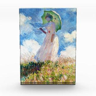 Woman with a Parasol  Claude Monet Acrylic Award
